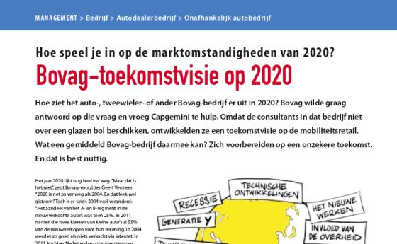 Bovag-toekomstvisie op 2020 (2012-3)