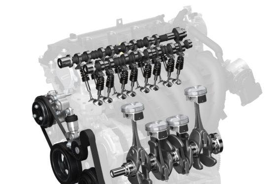 Compressieverhouding 18:1 in komende benzinemotoren