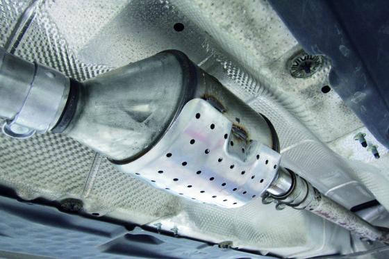 Roetfilters voor benzinemotoren in 2017