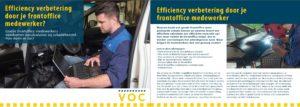 Efficiency verbetering door je frontoffice medewerker