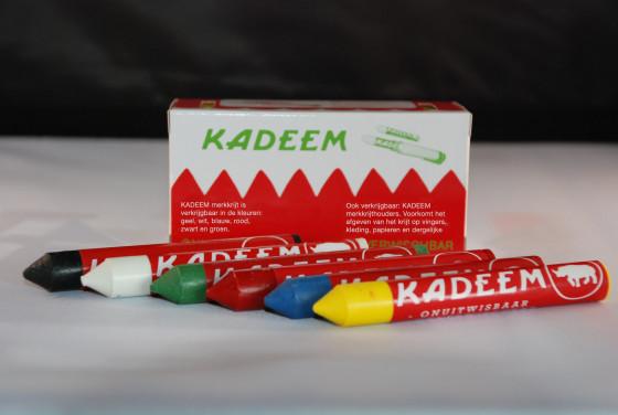 Korput Trading Dongen levert Kadeem markeerkrijt