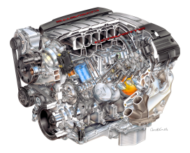 Nieuwe Chevrolet Corvette V8