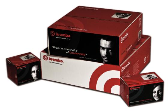 Brembo zet QR-code voor installatievideo op verpakking
