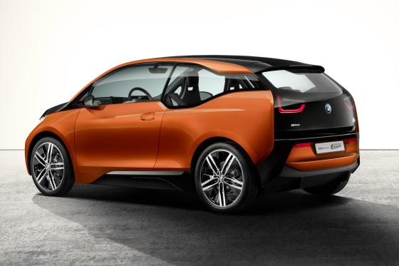 BMW i3 nu als coupéstudie