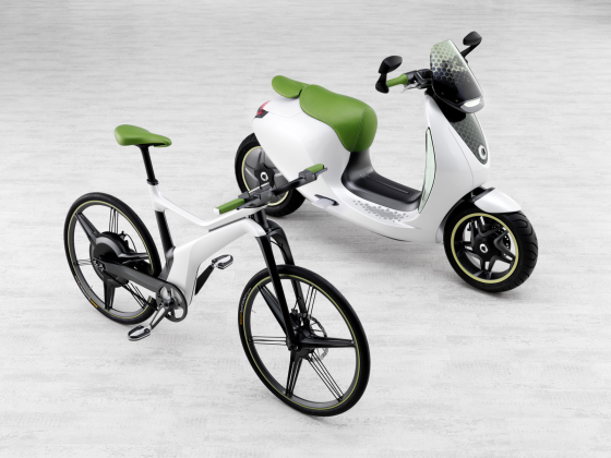 smart en Vectrix samen in e-scooters