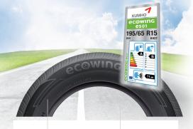 Kumho Tires zet gegevens bandenlabel online