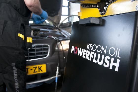 Kroon-Oil introduceert geavanceerde PowerFlush