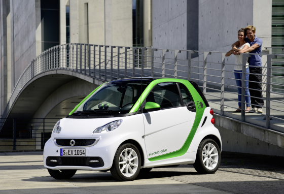 Elektrische smart fortwo in april leverbaar