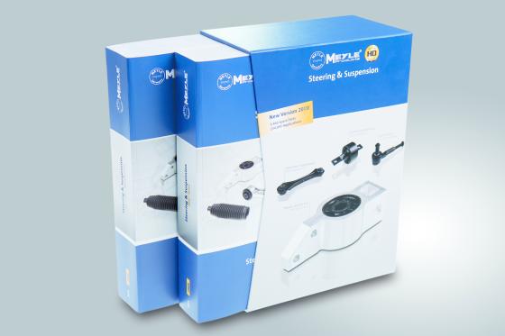 Nieuwe Meyle catalogus met stuur- en ophangingsdelen