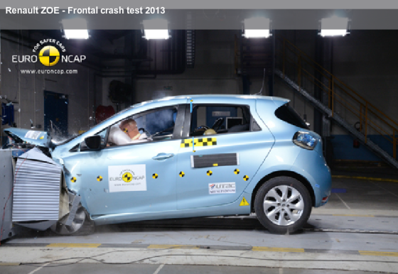 e-Auto scoort goed in Euro NCAP-botstest