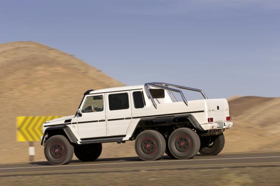 AMG-Mercedes G met Dakar-gevoel