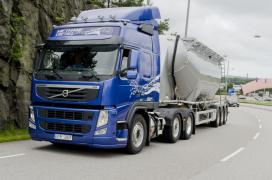 FloraHolland en Shell geloven in Volvo LNG truck