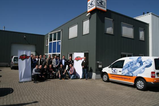 AMT Topmonteurs leren van C&E turbo's