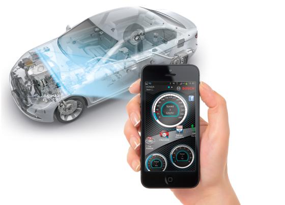 OBD uitlezen met Bosch telefoonapp