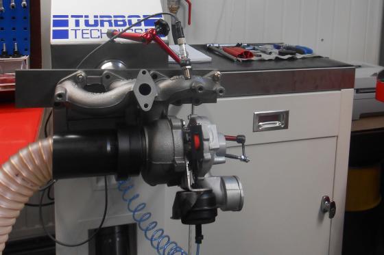 C&E Turbochargers neemt eerste VNT-turbotestbank in gebruik