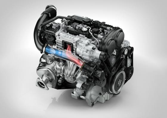 Volledig nieuwe Volvo 2.0 motoren