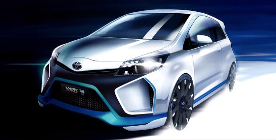 Toyota Yaris Hybrid Racemonster