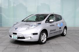 Nissan Leaf rijdt bijna autonoom