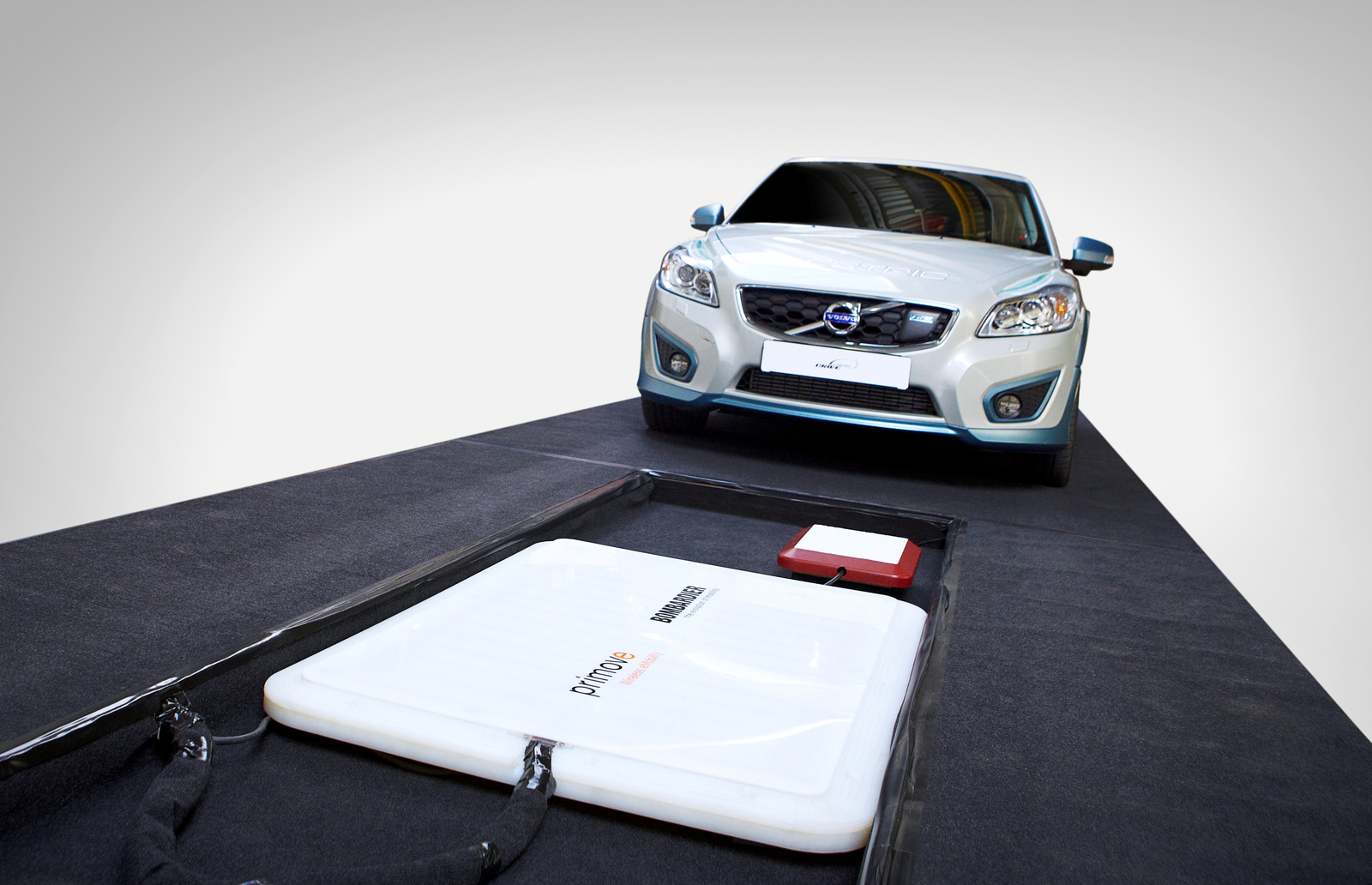 Volvo Test Inductief Laden Voor Elektrische Auto In Belgie