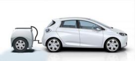 Actieradiuskarretje voor elektrische auto