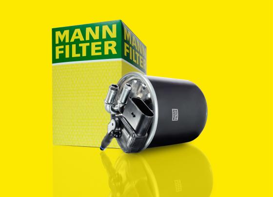 Verwarmd dieselfilter van Mann+Hummel
