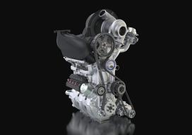 Driecilinder Nissan Le Mans-racer