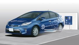 Draadloos laden bij Toyota en Denso