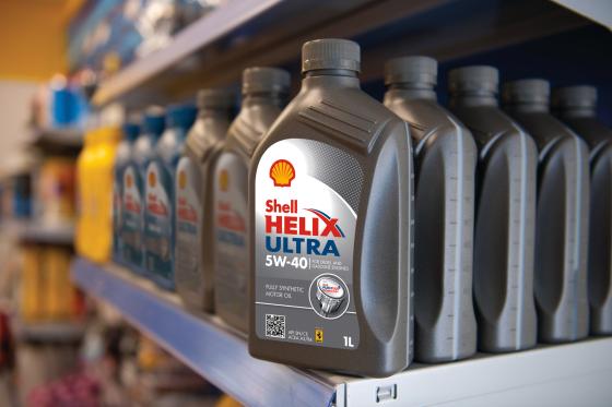 Shell Helix Ultra-motorolie voorkomt vervuiling