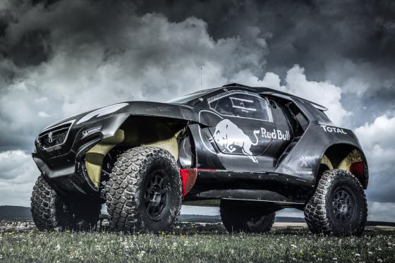 Moedige aanval Peugeot in Dakar-rally