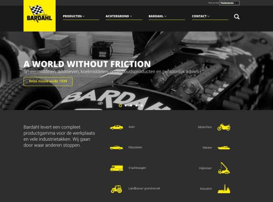 Bardahl lanceert vernieuwde website