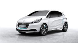 Peugeot HYbrid Air verbruikt 1:50