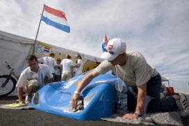 Haagse studenten winnen Shell eco-marathon