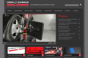 Lebon&Gimbrair wijst weg in werkplaatsequipment