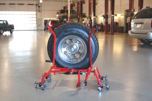 Wheelfloat: kranig hulpje voor de bandenmonteur
