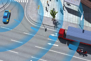 Minder ongelukken dankzij Car2Car Communication