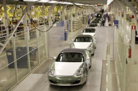 Porsche verlaagt productie tijdens kerst