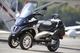 Piaggio driewielscooter voor B-rijbewijs