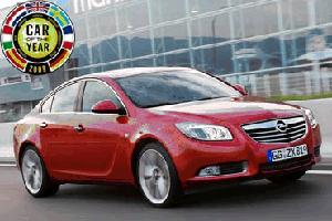 Opel Insignia Auto van het Jaar 2009