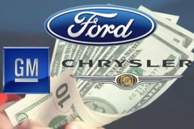 General Motors Chrysler en Ford willen financiële steun