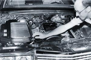 Cadillac rijdt op kolen