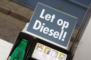 Dieselrijder moet veel kilometers maken