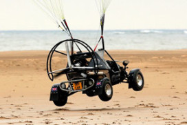 De lucht in met Skycar vliegauto!