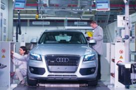 Audi legt productie vijf dagen stil