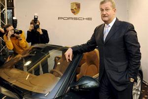 Verkoop Porsche 27 procent gedaald door crisis
