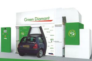 Omia Green Diamant: de 'groene' spuitcabine