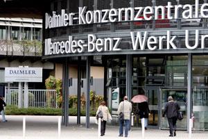 Zware winstval voor Daimler