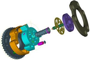 BorgWarner verstelt nokkenas met hydraulische ratel