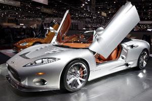 Spyker ziet zonnige toekomst met nieuwe C8 Aileron