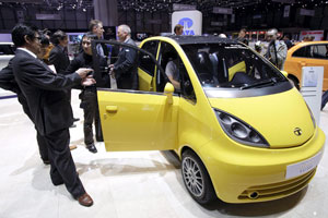 Verkoop Tata Nano van start