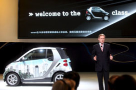 Mercedes introduceert smart in China